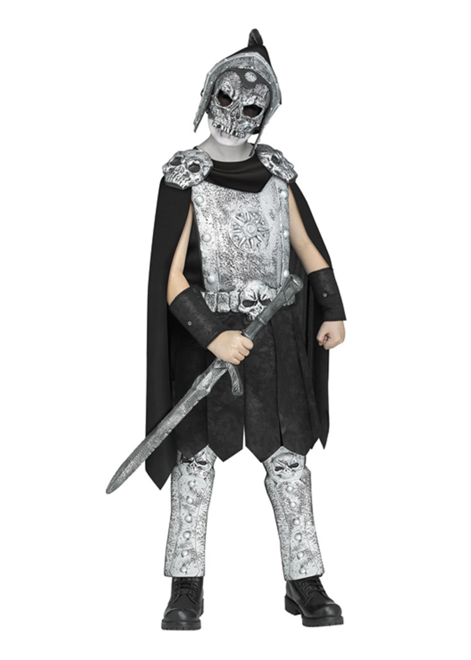 Skeleton Gladiator Costume - Boys