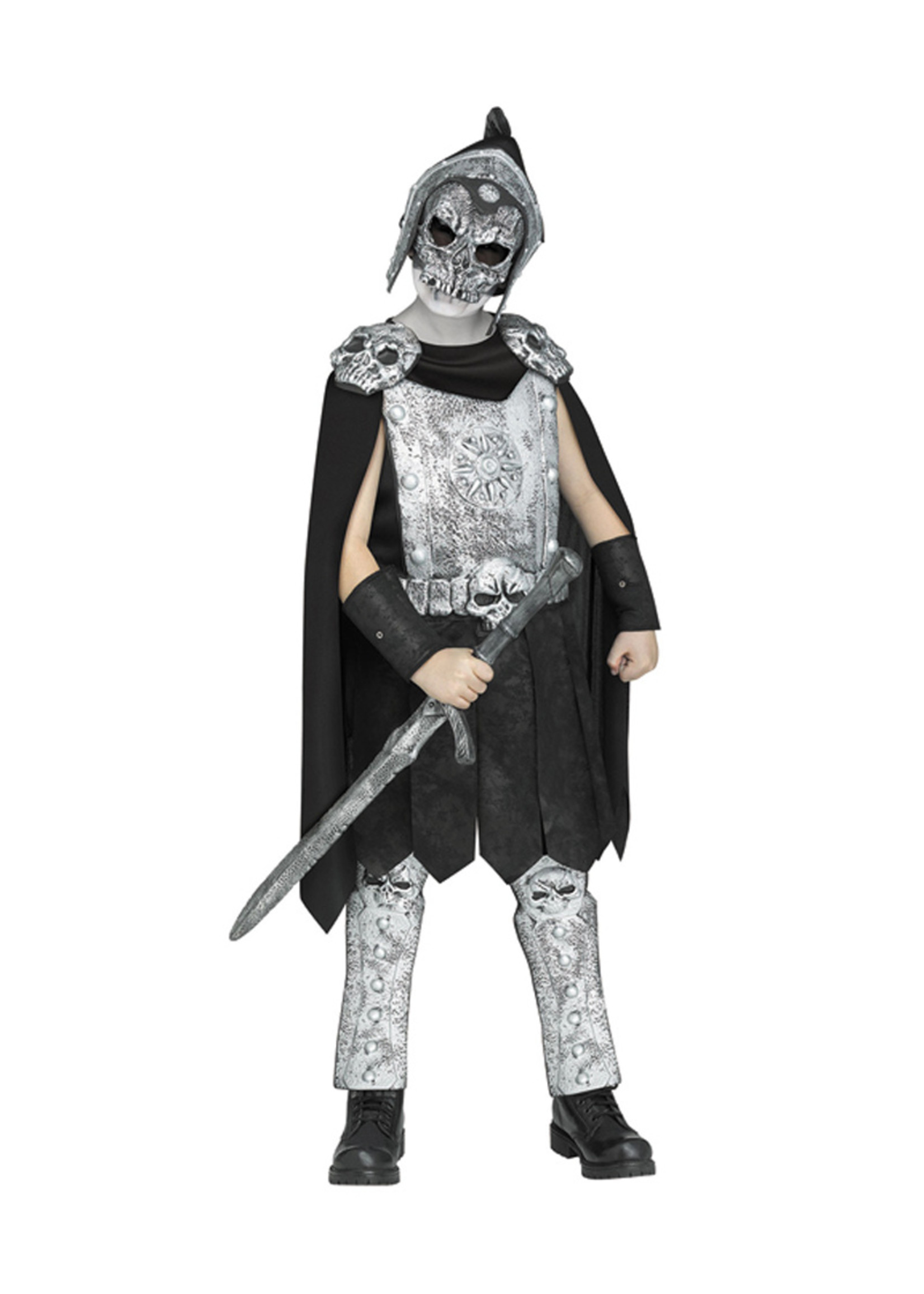 Skeleton Gladiator Costume - Boys