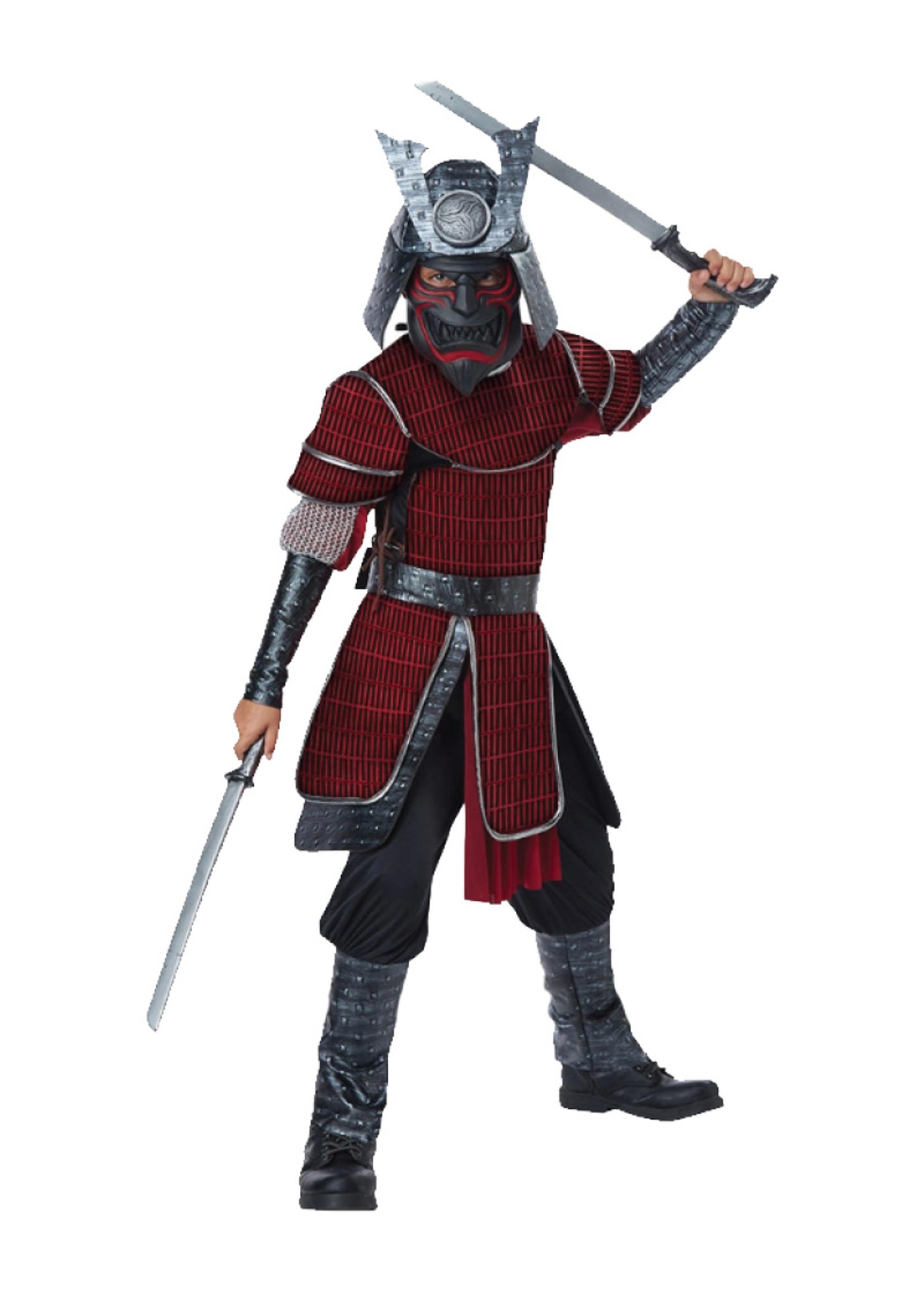 Samurai Costume - Boys