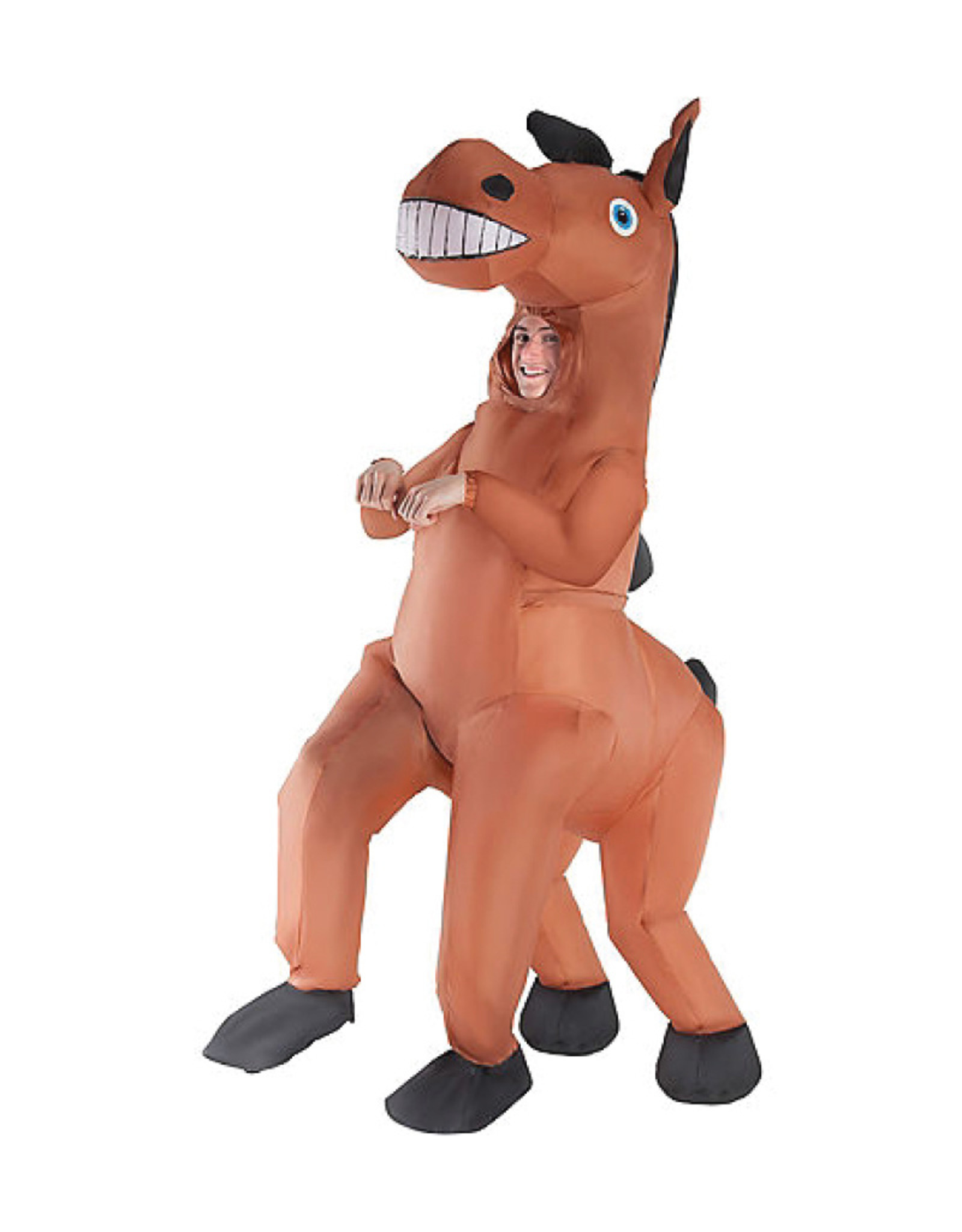 Giant Inflatable Horse Costume Boys Party On