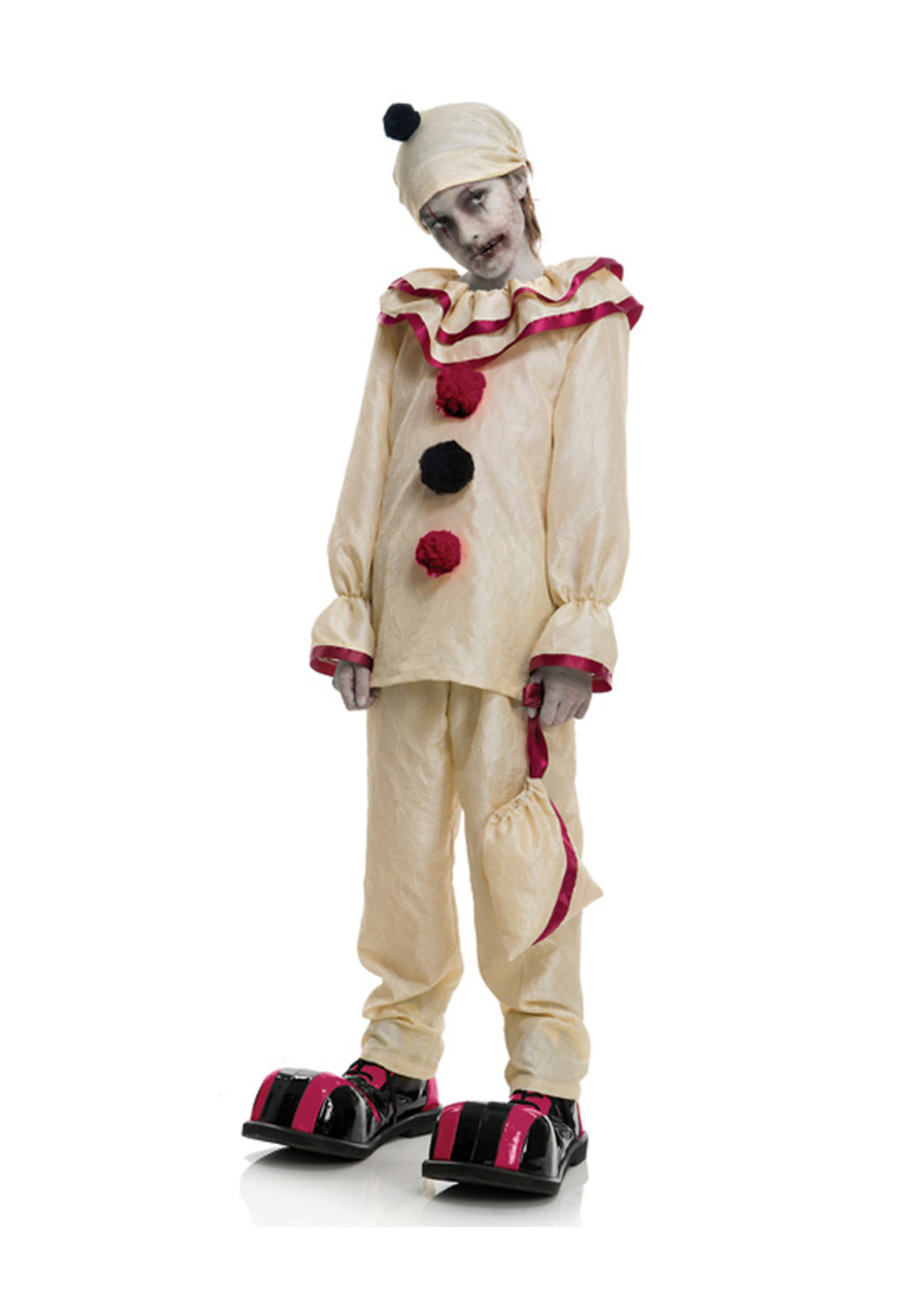 Horror Clown Costume - Boys