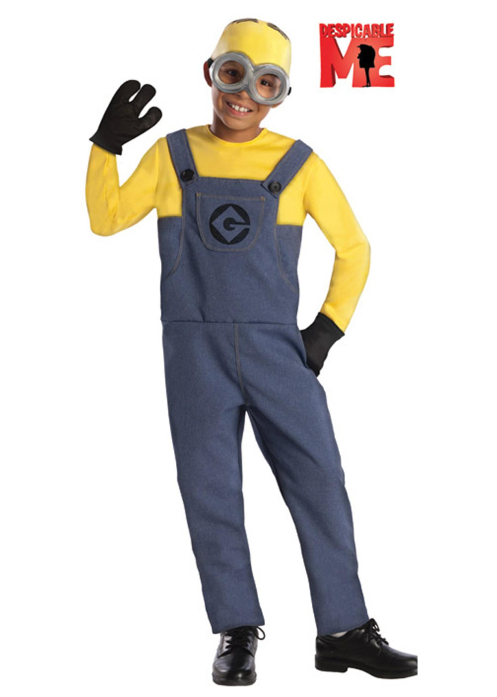 Minion Dave Costume - Boys