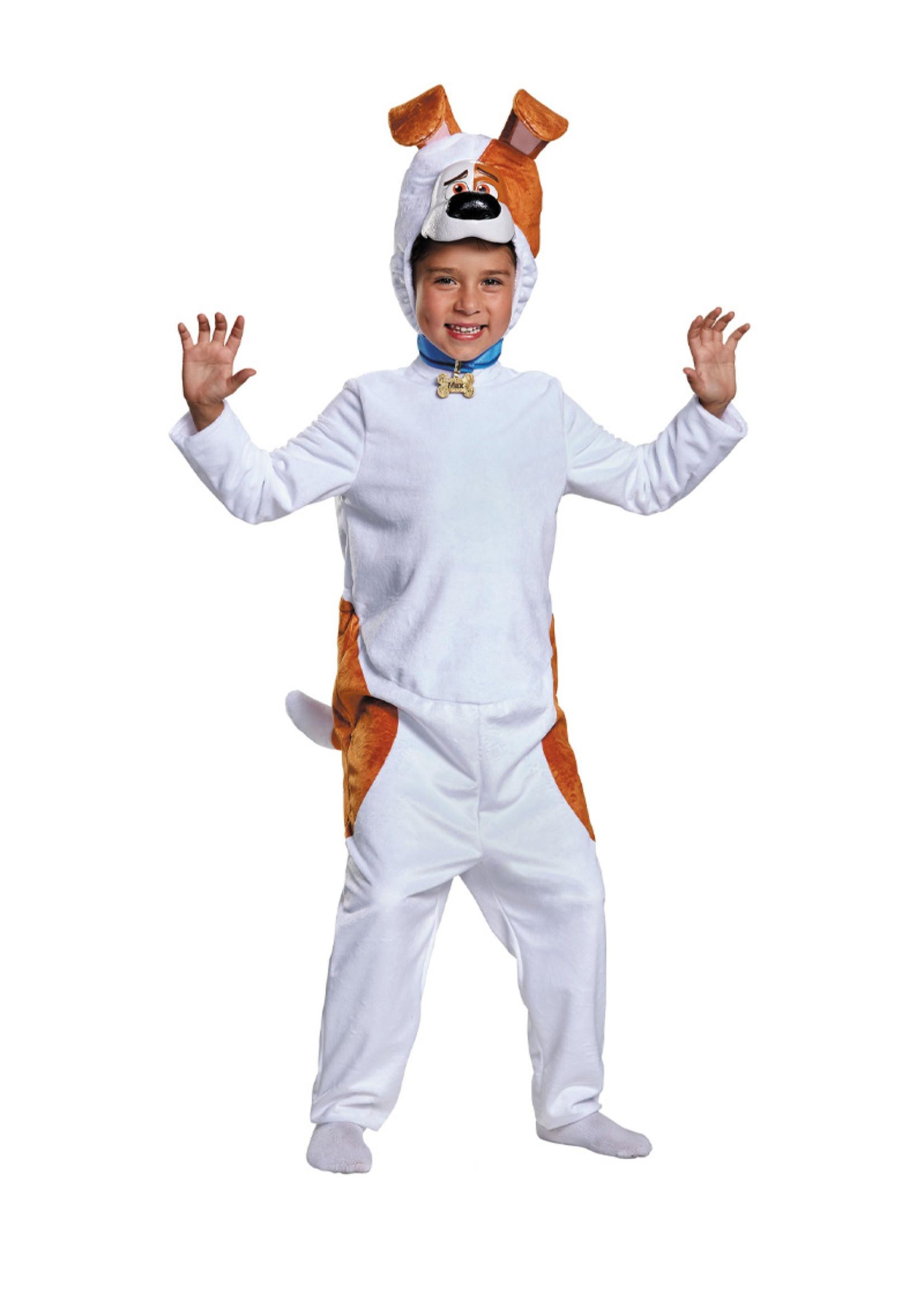 Max - The Secret Life of Pets Costume - Boys