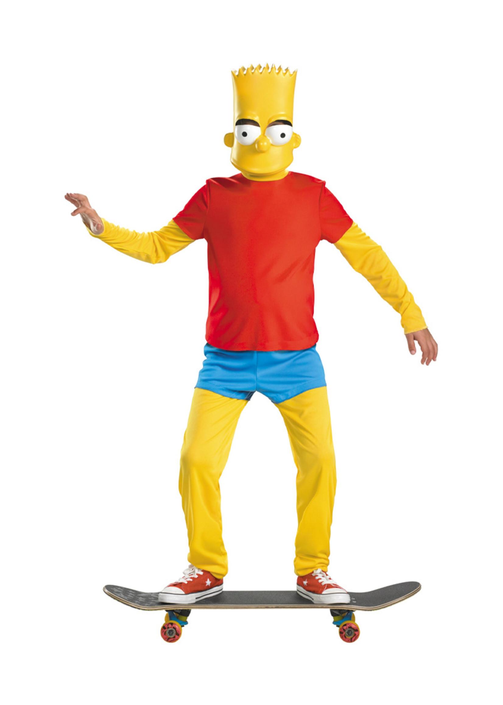 Bart Simpson Costume - Boys