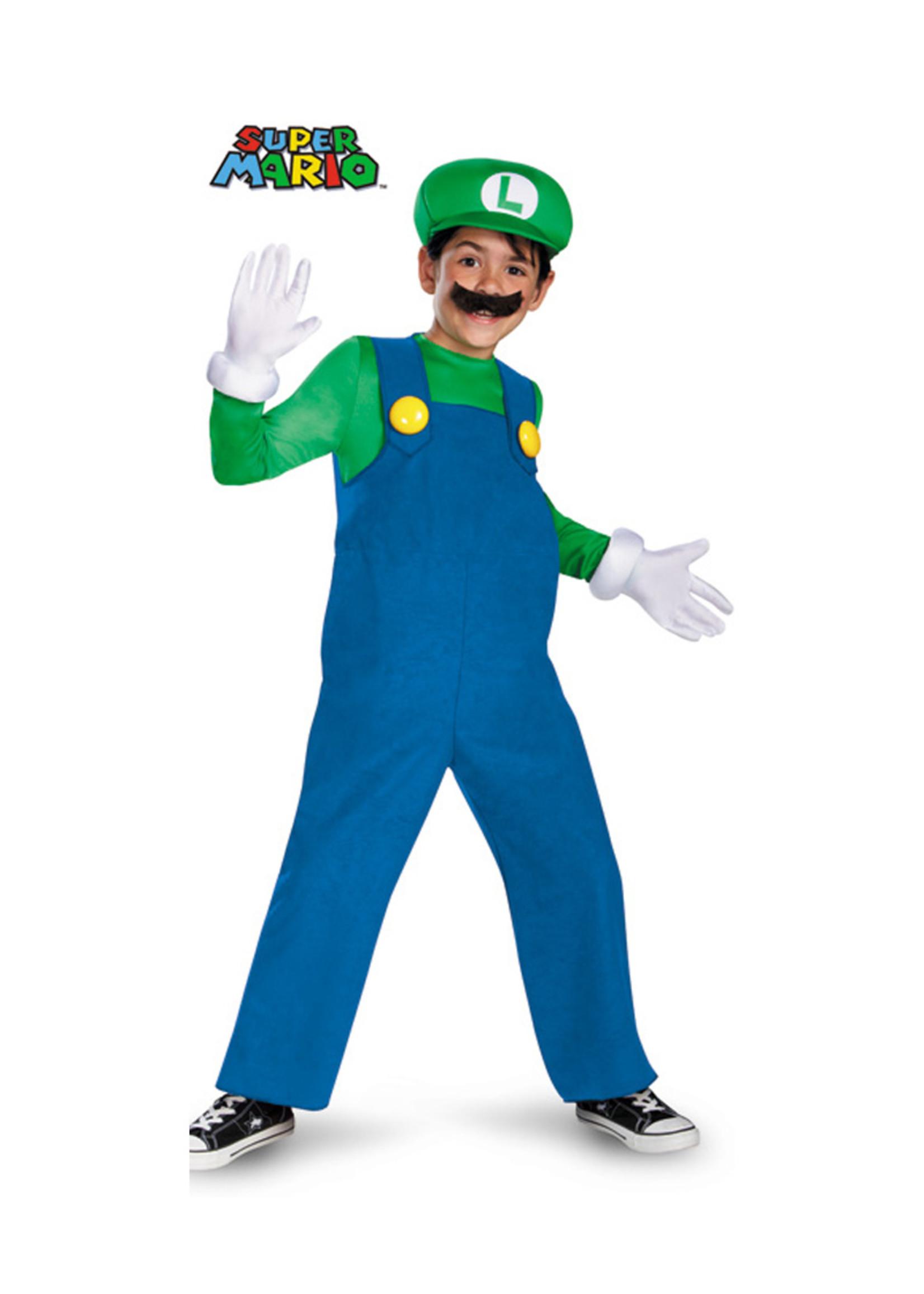 Luigi Deluxe Costume - Boys