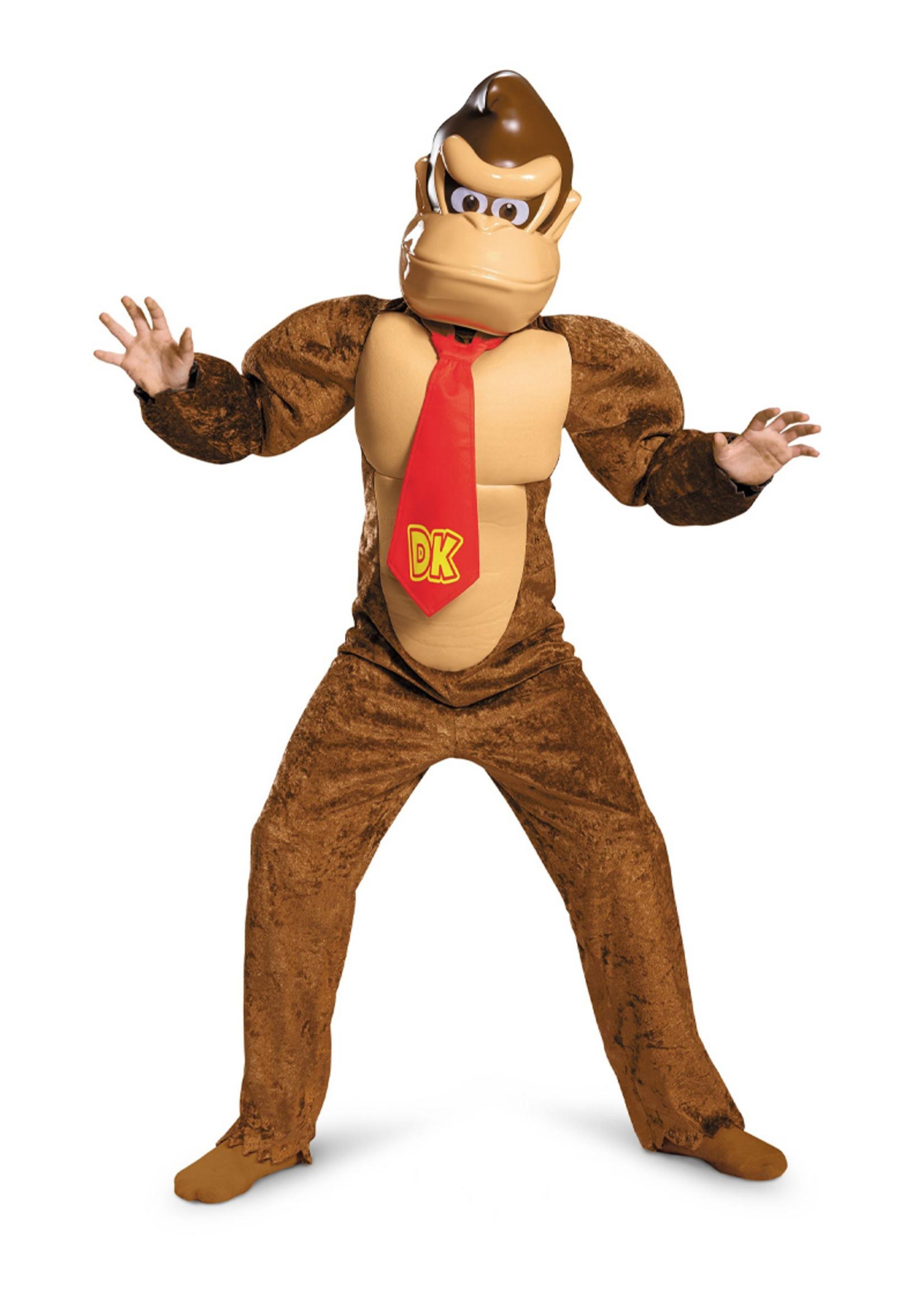 Donkey Kong Deluxe Costume - Boys