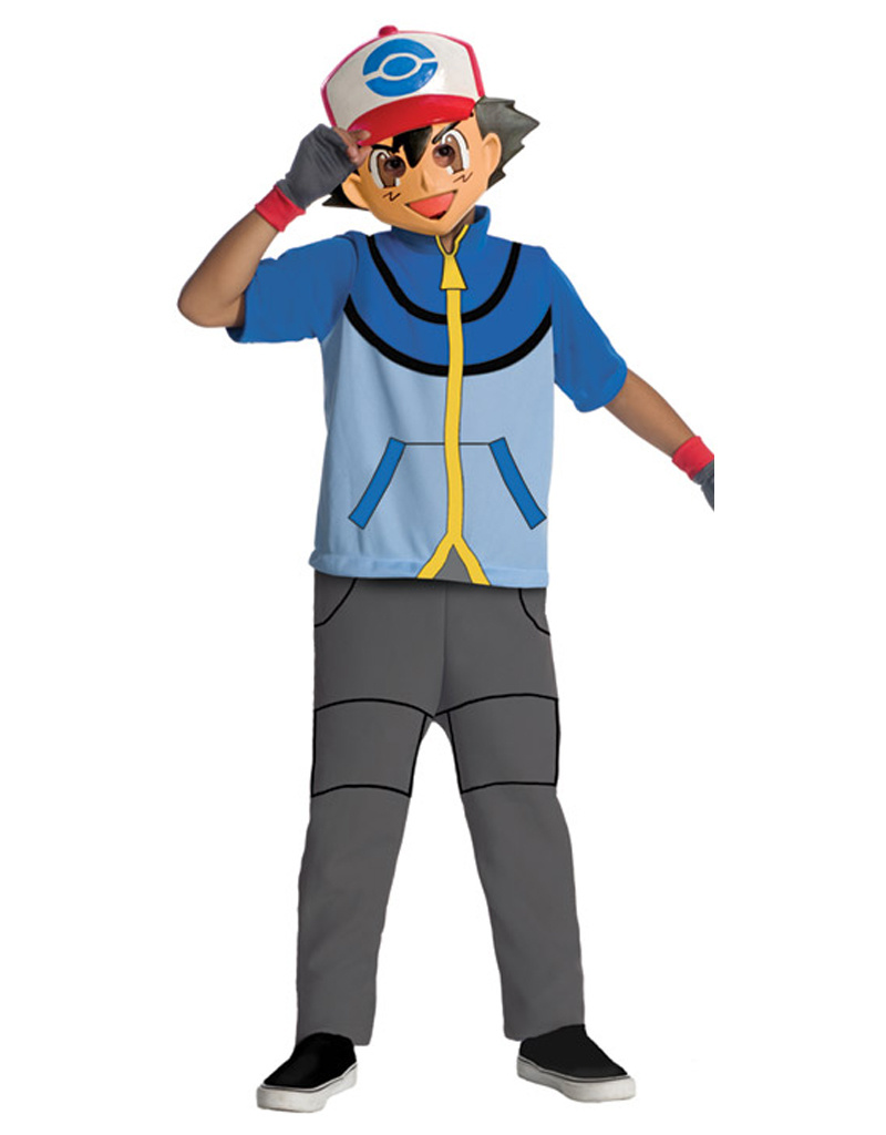 Ash Costume - Boys