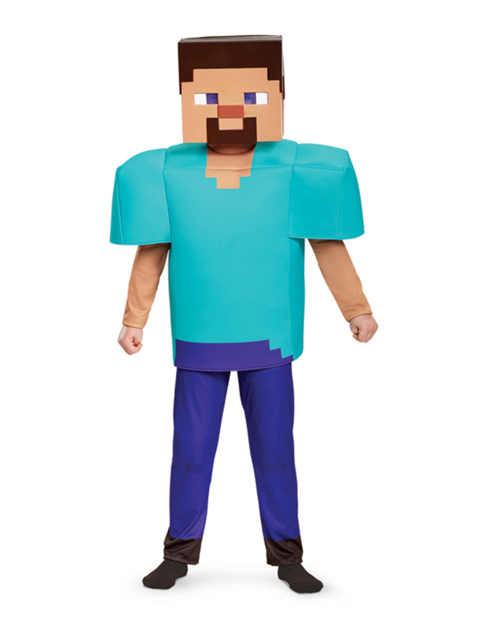 Steve - Minecraft Costume - Boys