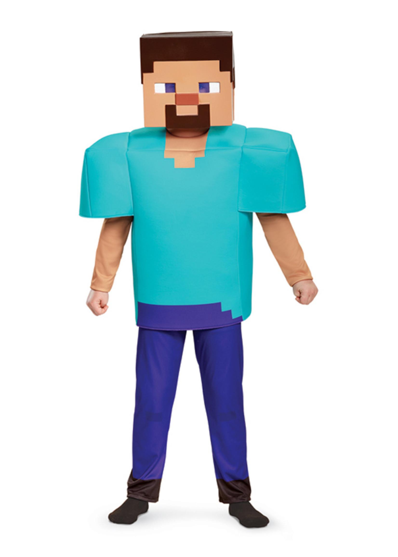 Steve - Minecraft Costume - Boys