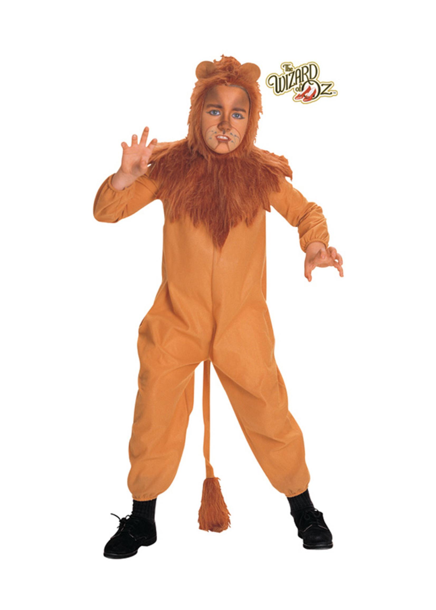 Cowardly Lion Costume - Boys