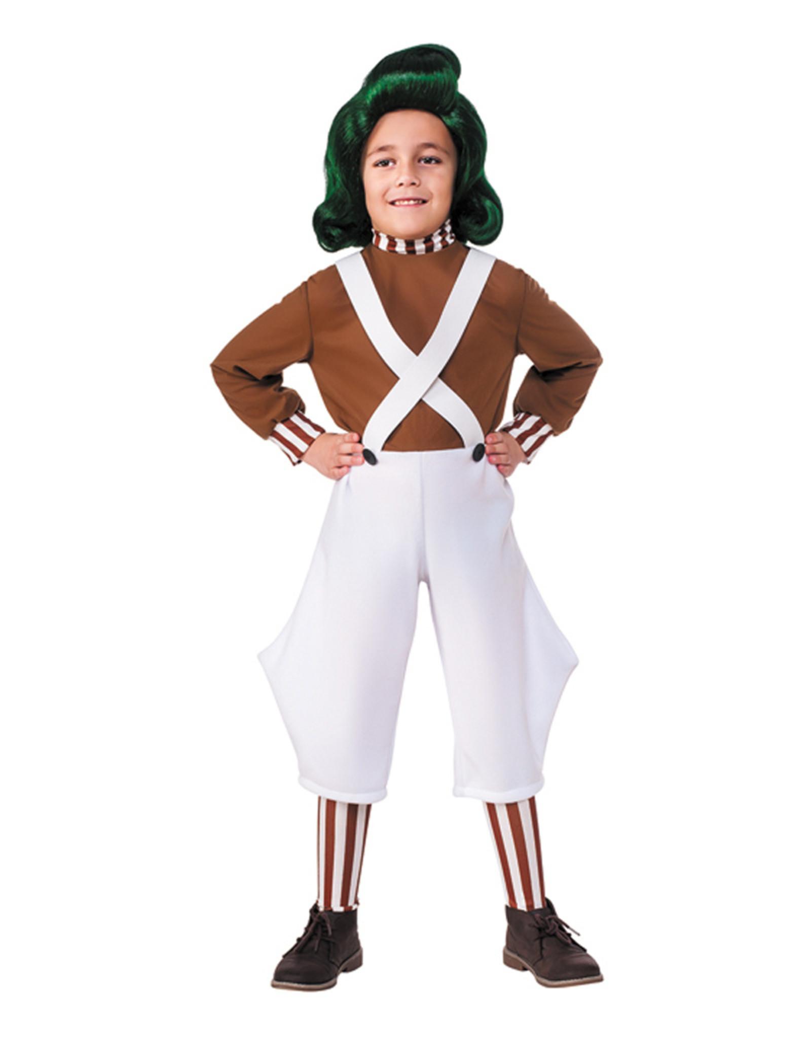 Oompa Loompa Costume - Boys