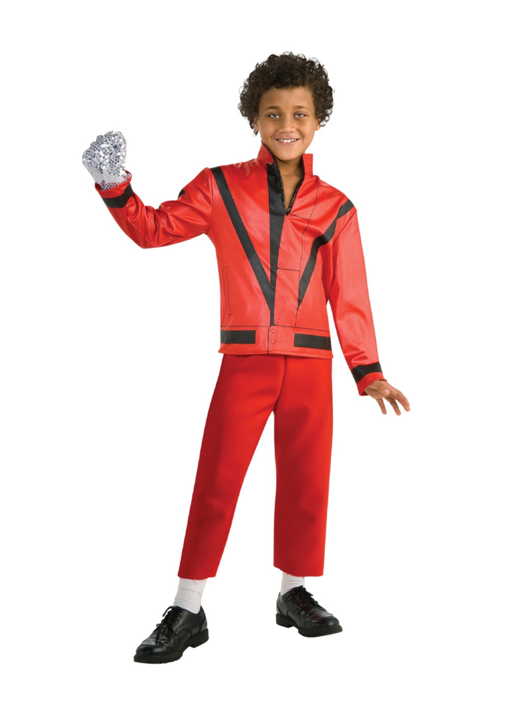 RUBIES Michael Jackson Thriller Jacket - Boys