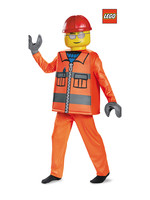 LEGO Construction Worker Costume - Boys