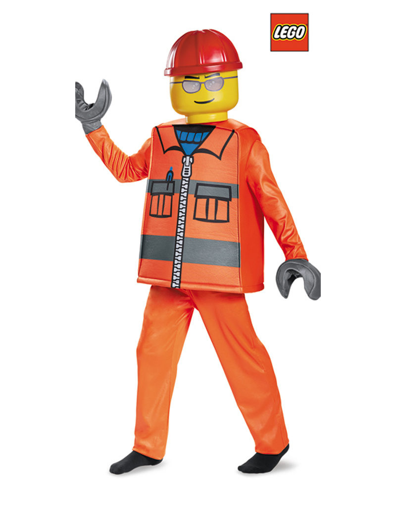 LEGO Construction Worker Costume - Boys