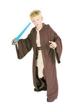 Hooded Jedi Robe Costume - Boys
