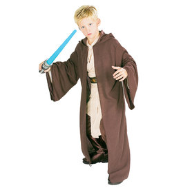 Hooded Jedi Robe Costume - Boys