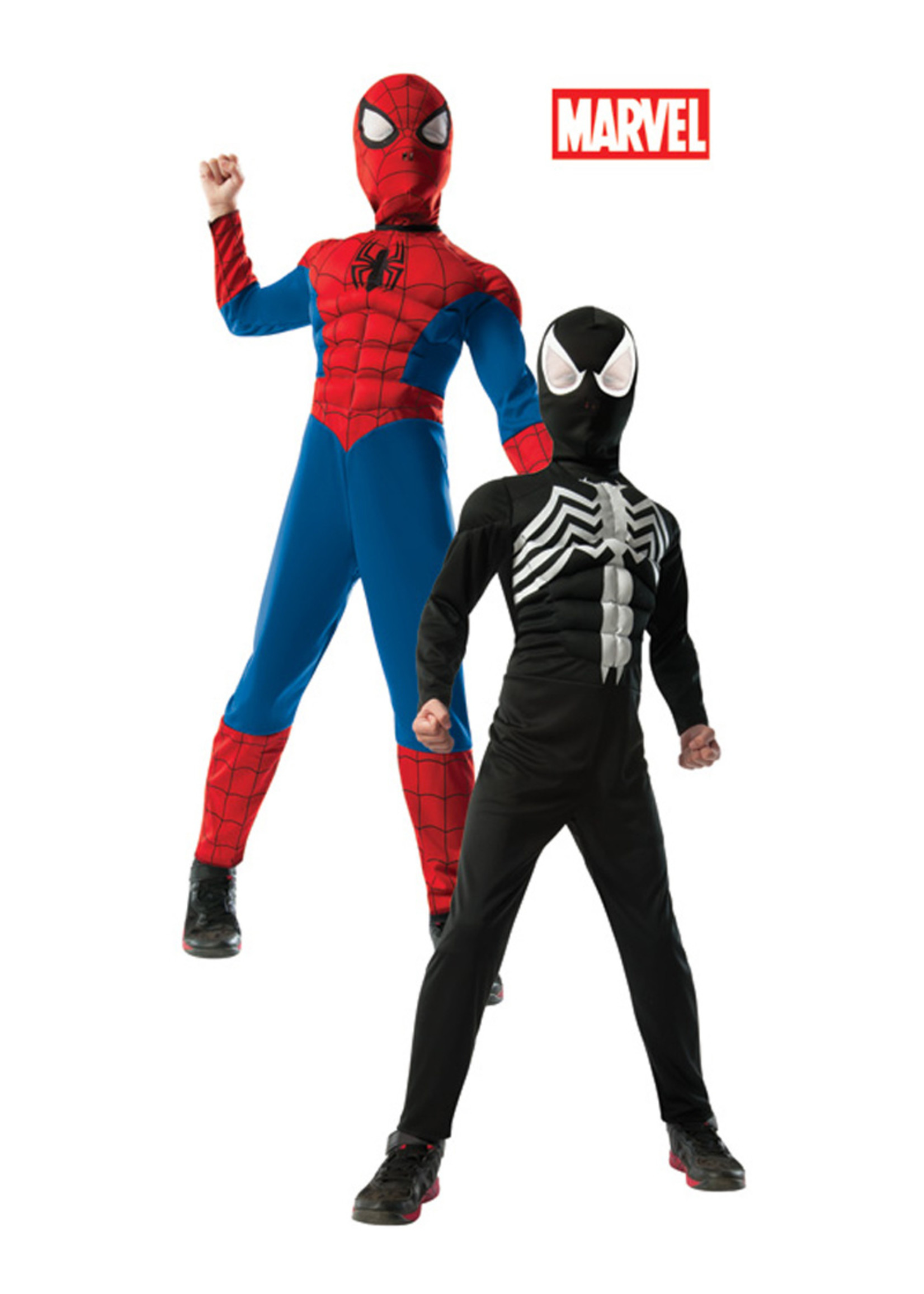 Reversible Spider-Man Costume - Boys
