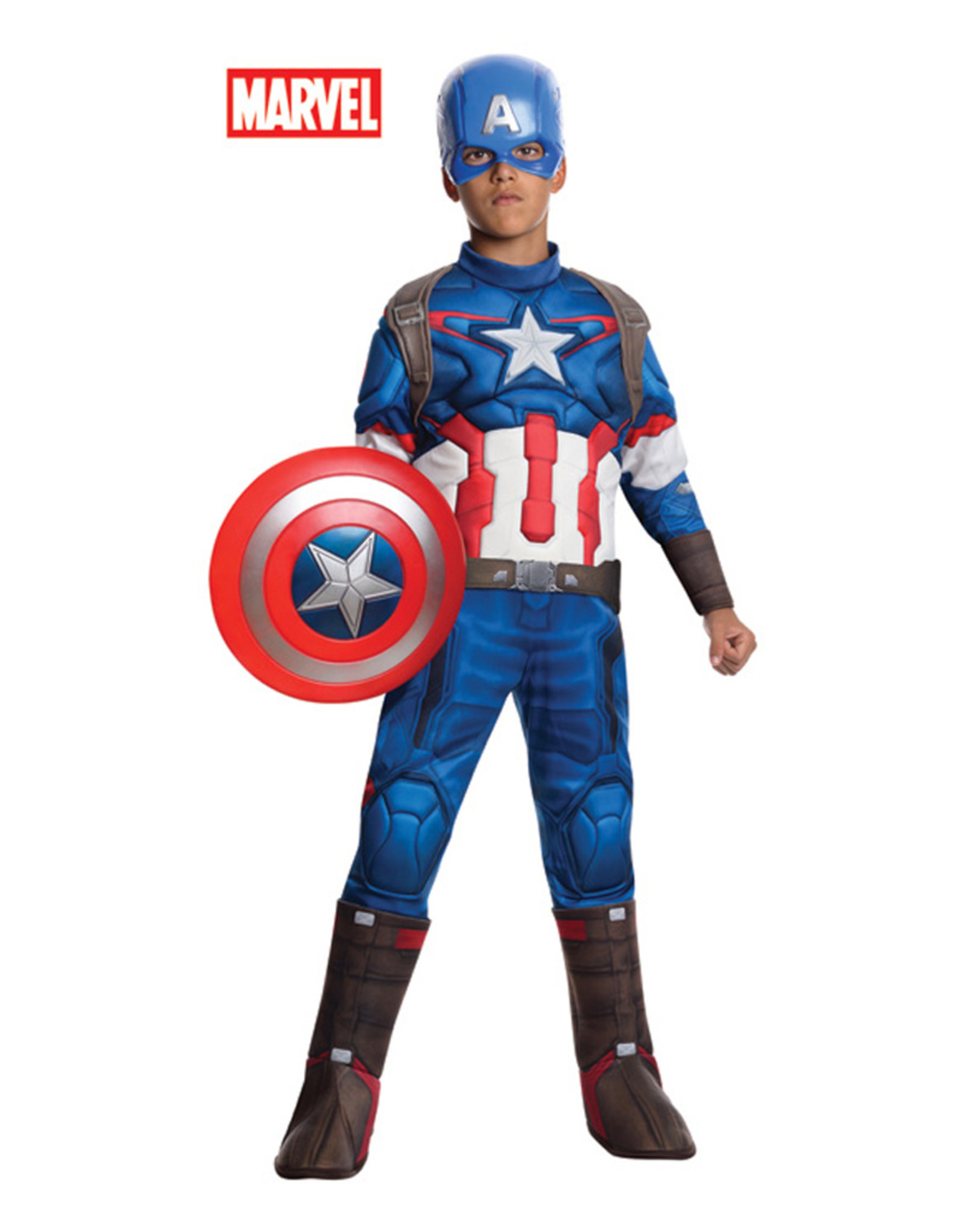 Captain America -  Avengers 2 Costume - Boys