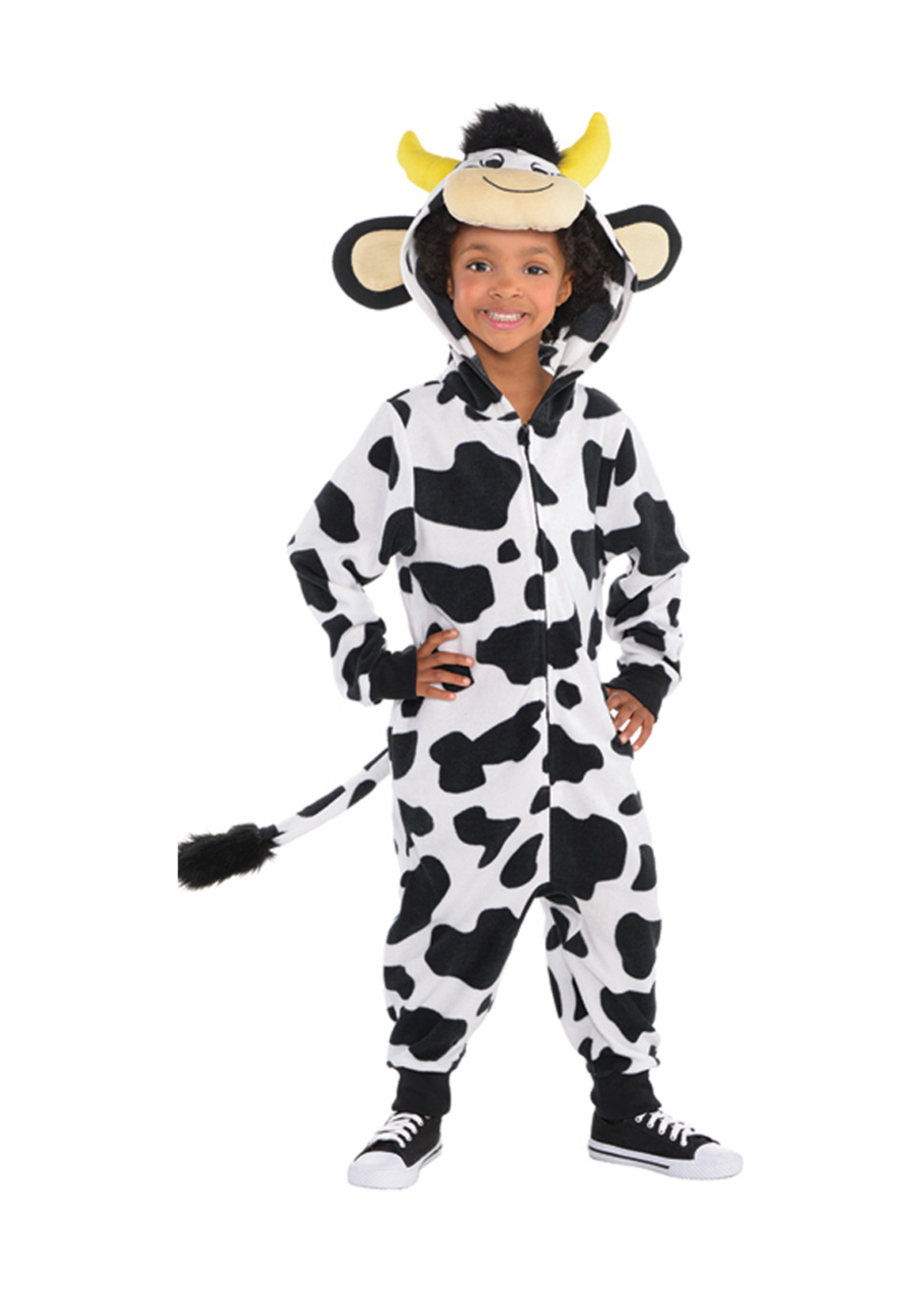 Cow Zipster Costume - Boys