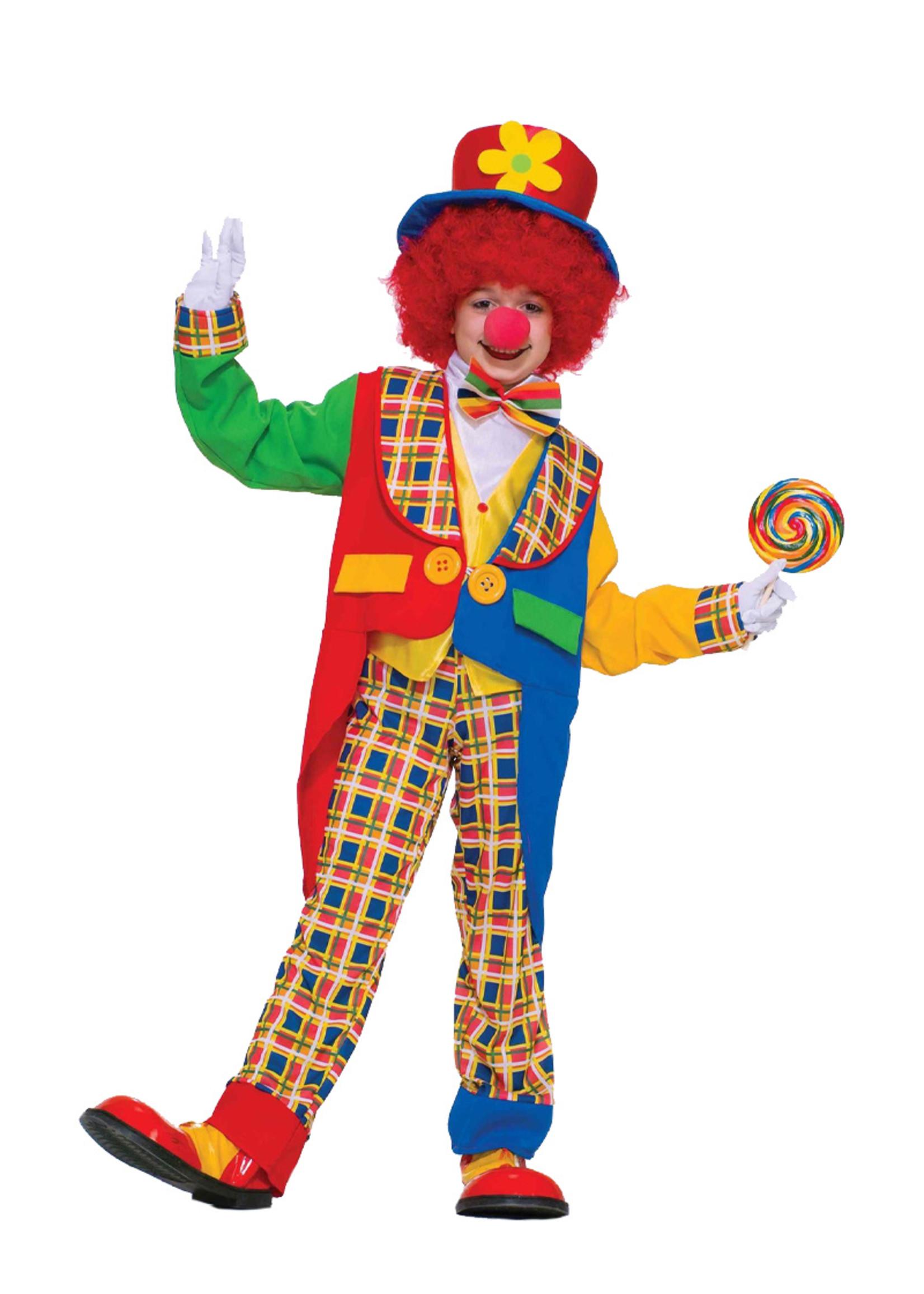 Clown Around Town Costume - Boys
