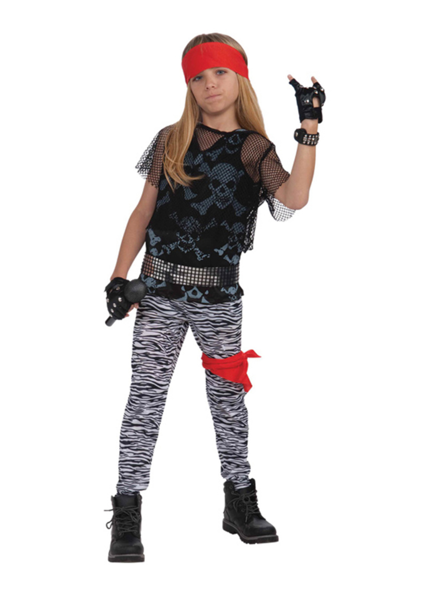 80's Rock Star Costume - Boys