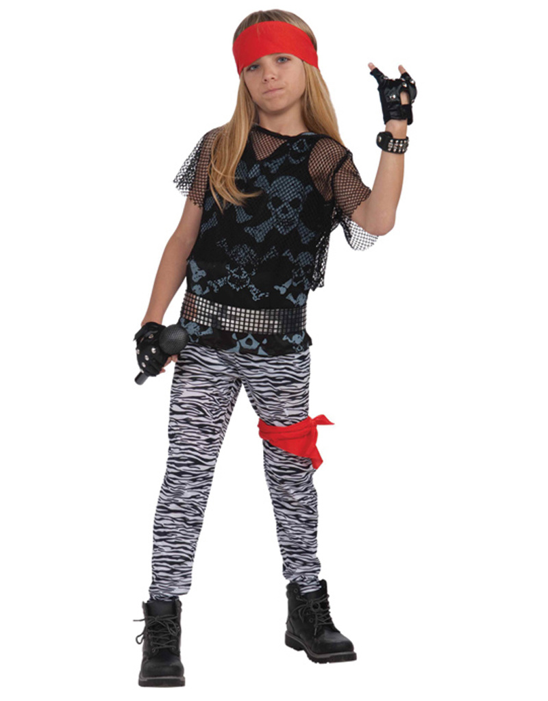 80's Rock Star Costume - Boys