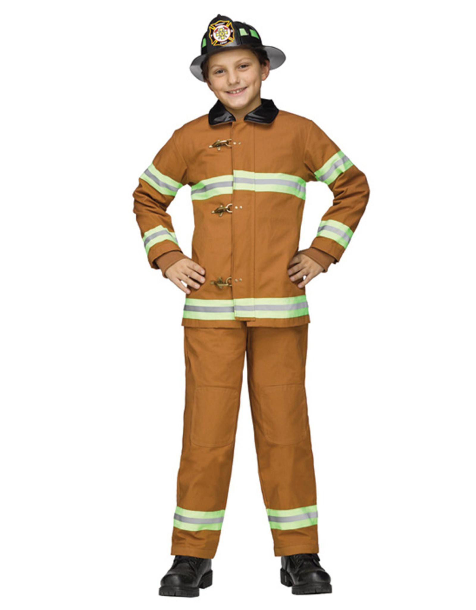 Fireman Deluxe Costume - Boys