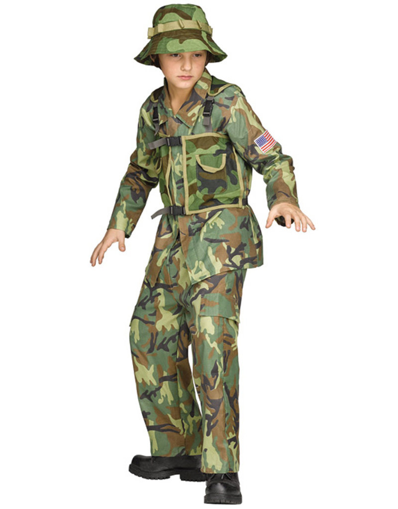 Authentic Special Forces Costume - Boys