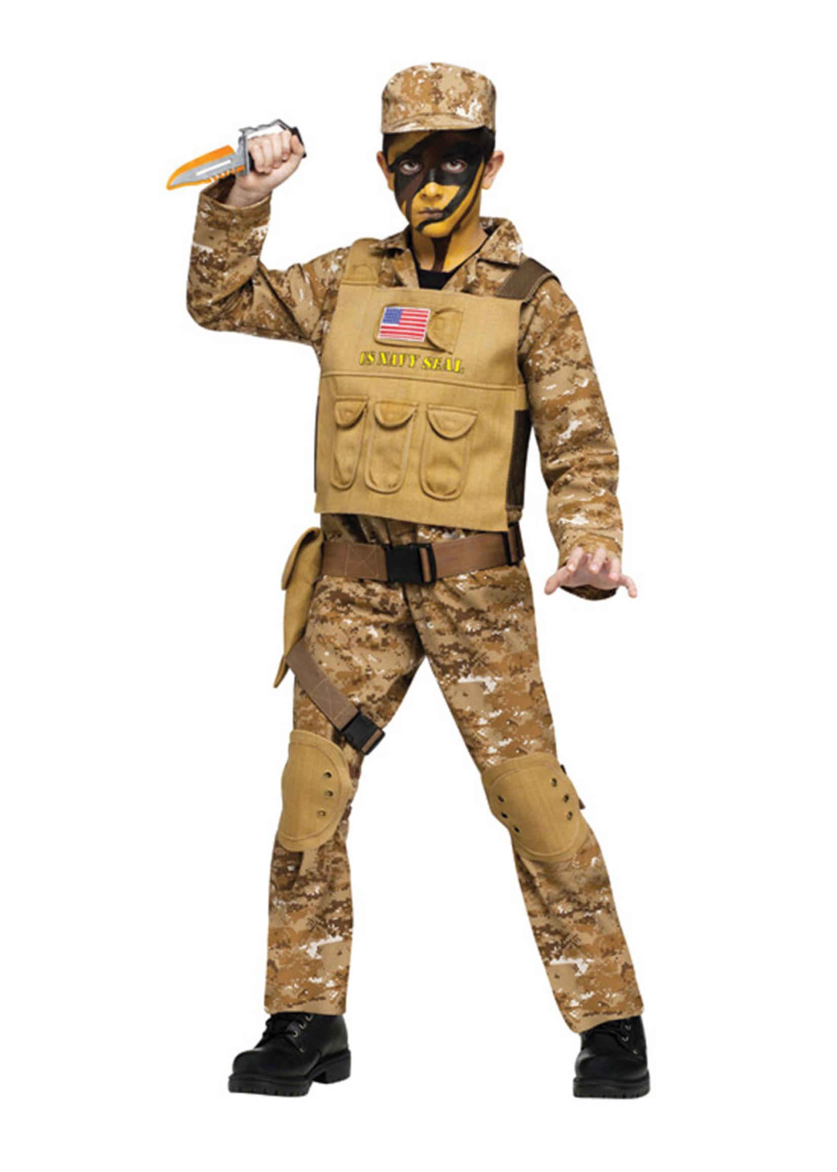 Navy Seal Costume - Boys