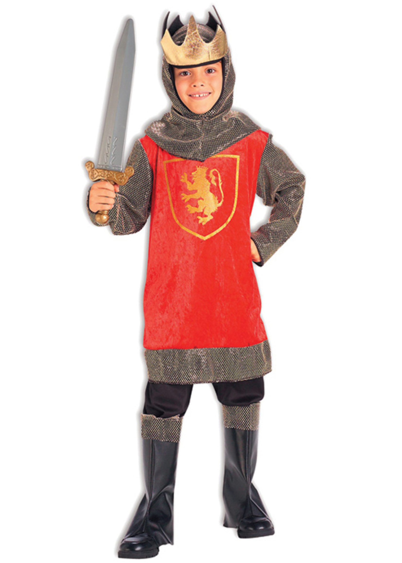 Crusade King Costume - Boys