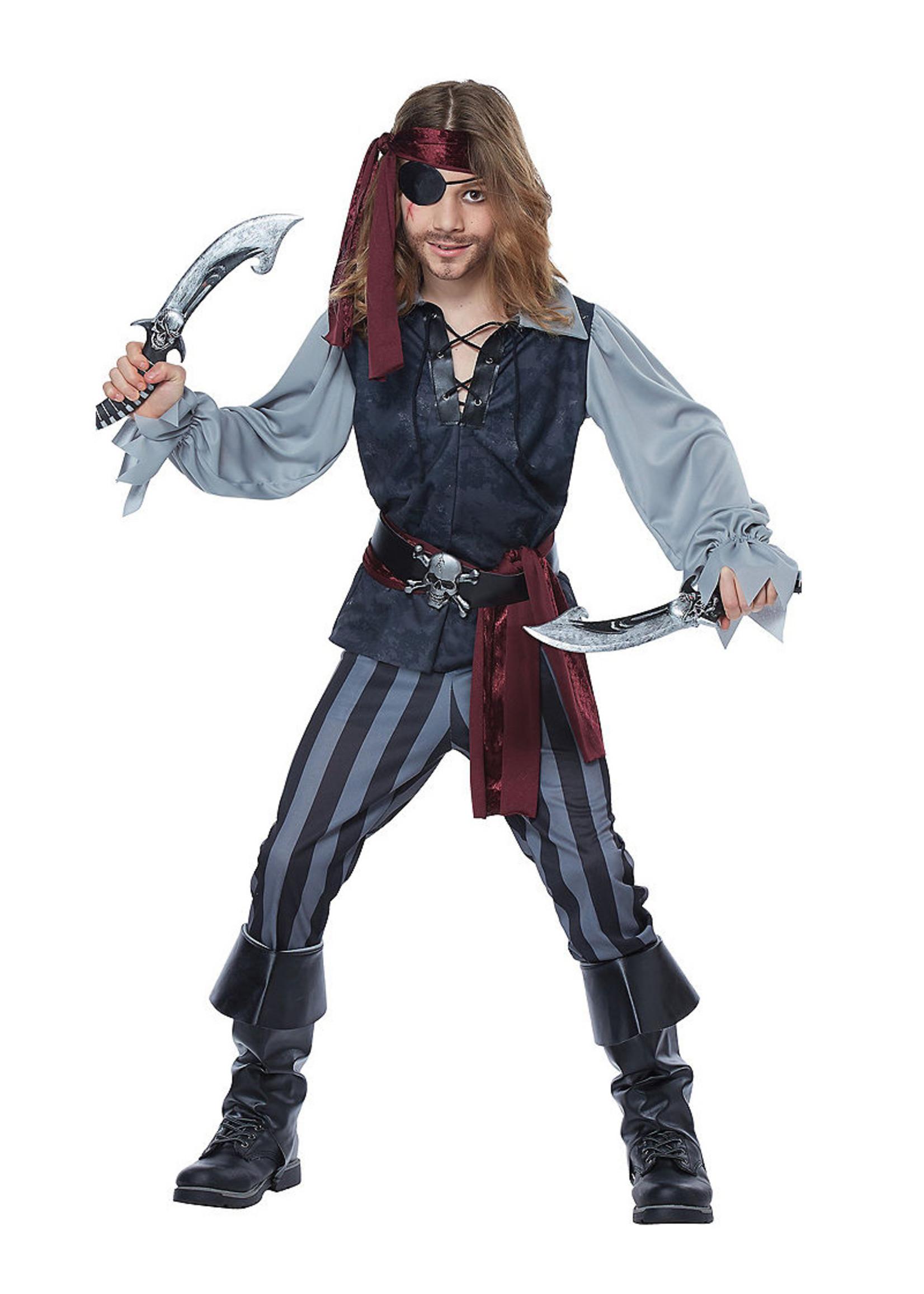 Sea Scoundrel Costume - Boys