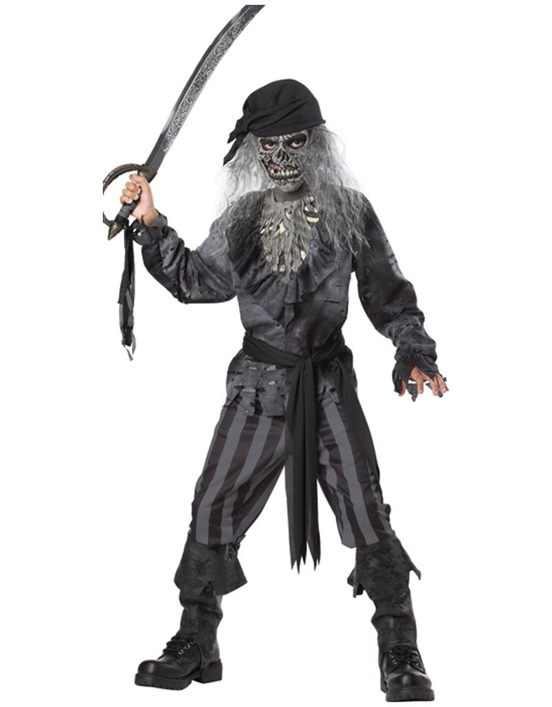 Ghost Ship Pirate Costume - Boys