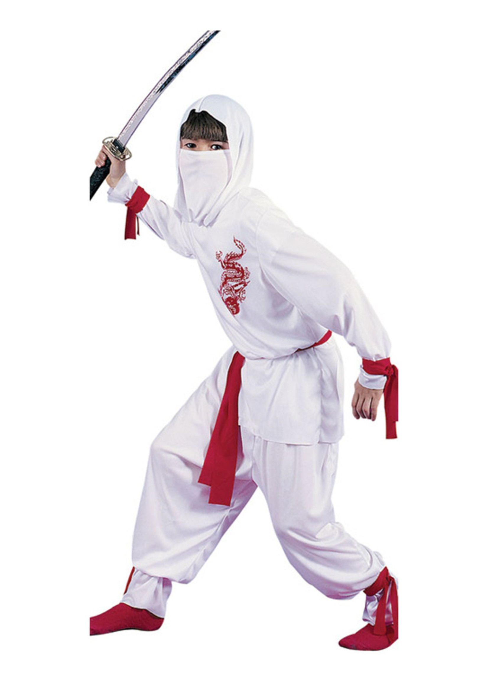White Ninja Costume - Boys