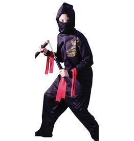 The Black Ninja Costume - Boys