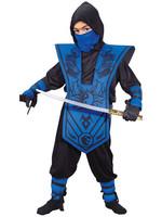 FUN WORLD Complete Ninja Blue Costume - Boys