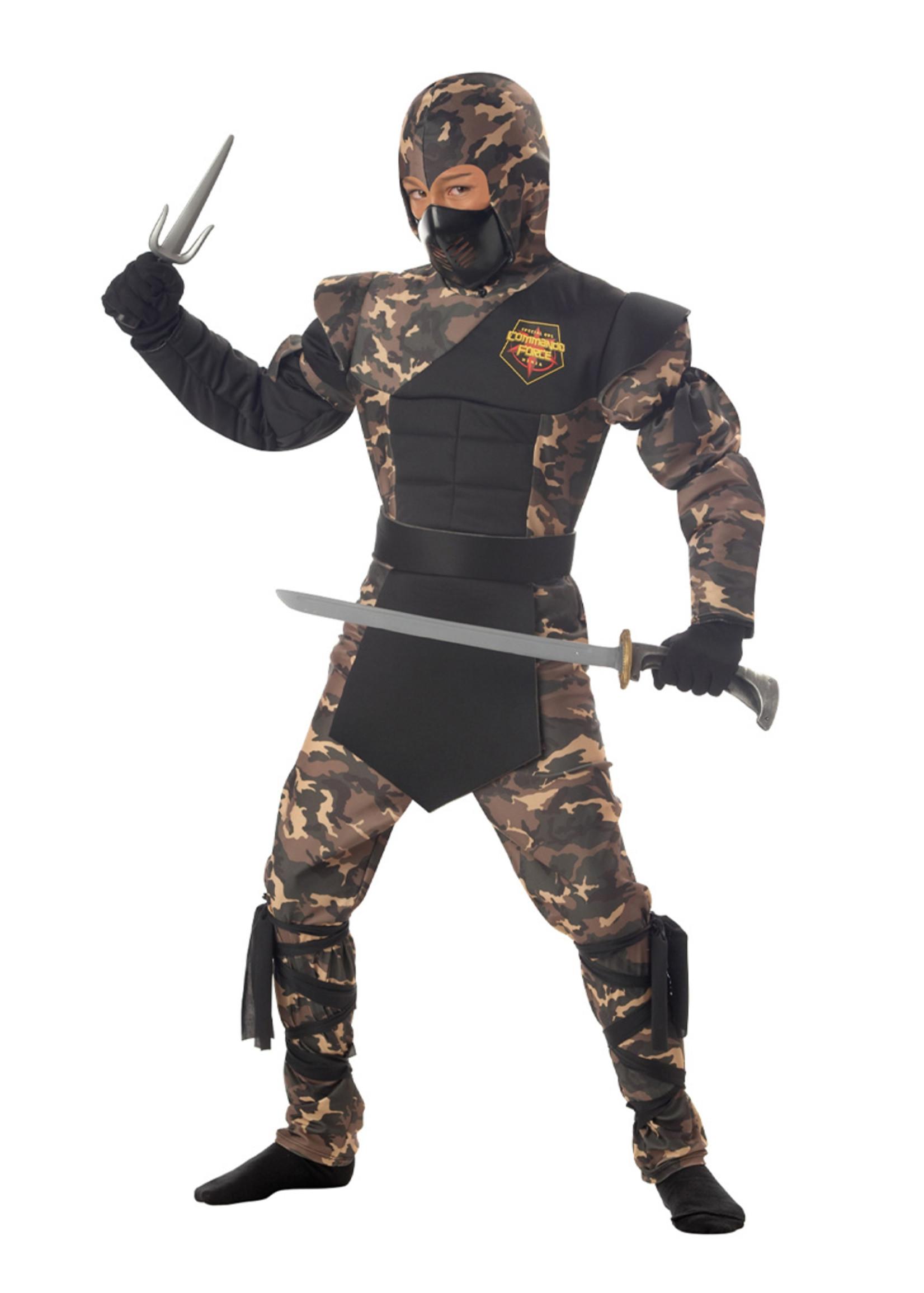 Special Ops Ninja Costume - Boys