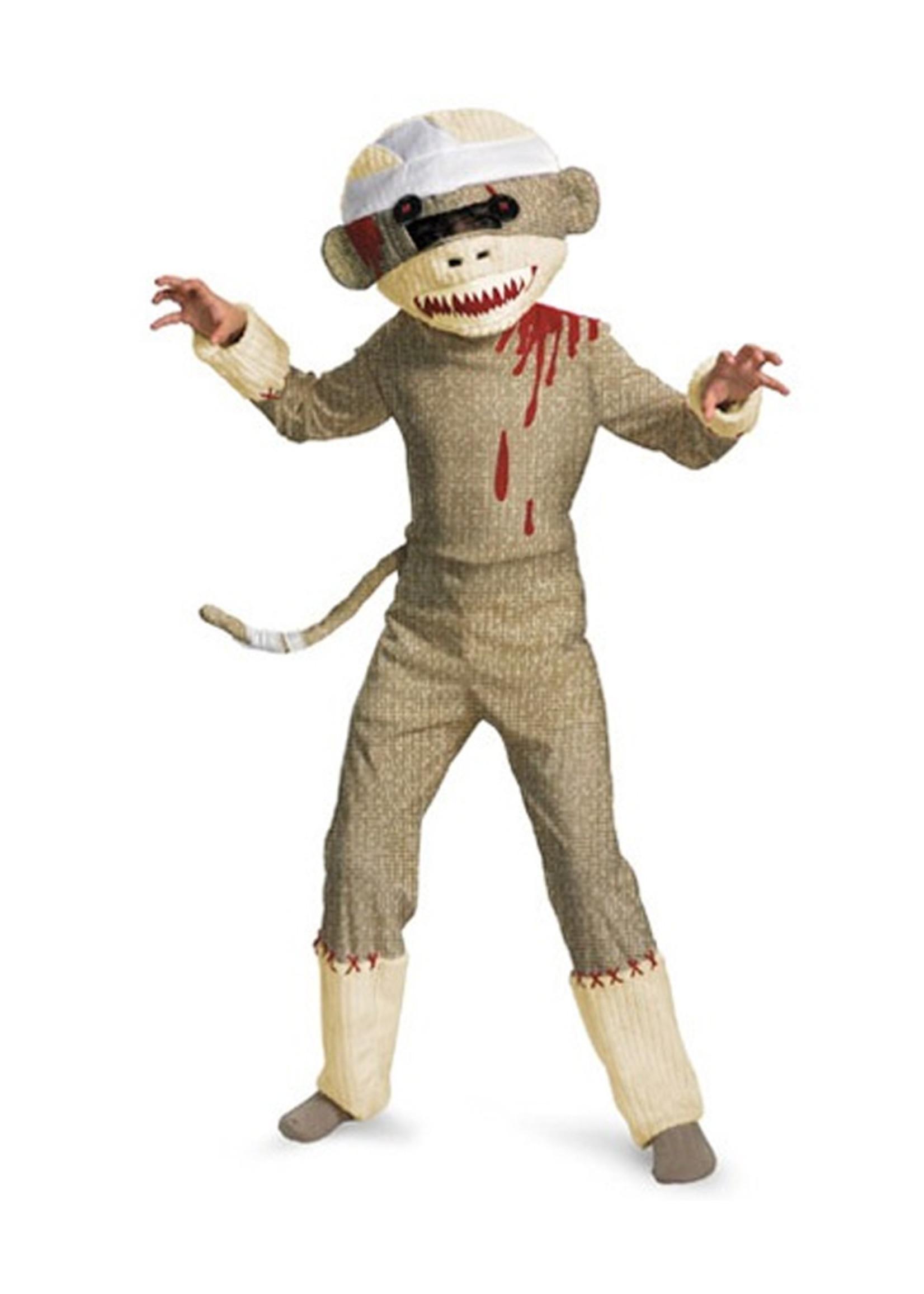 Zombie Sock Monkey Costume - Boys