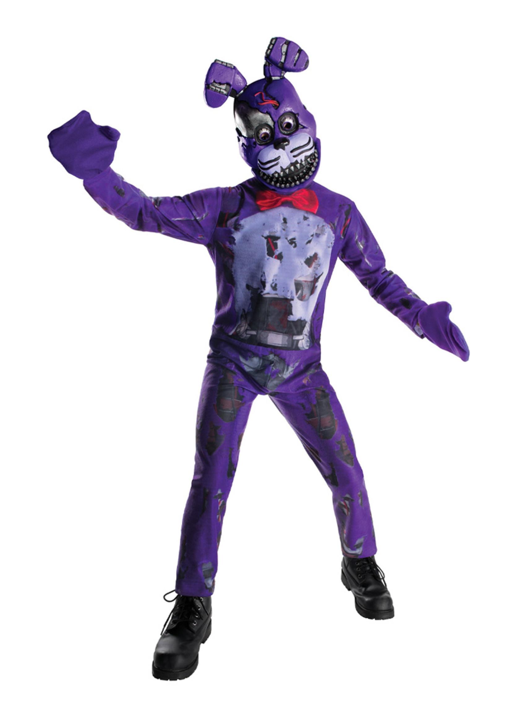 Nightmare Bonnie Costume - Boys