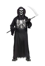 Reaper with Glow Chest Costume - Boys