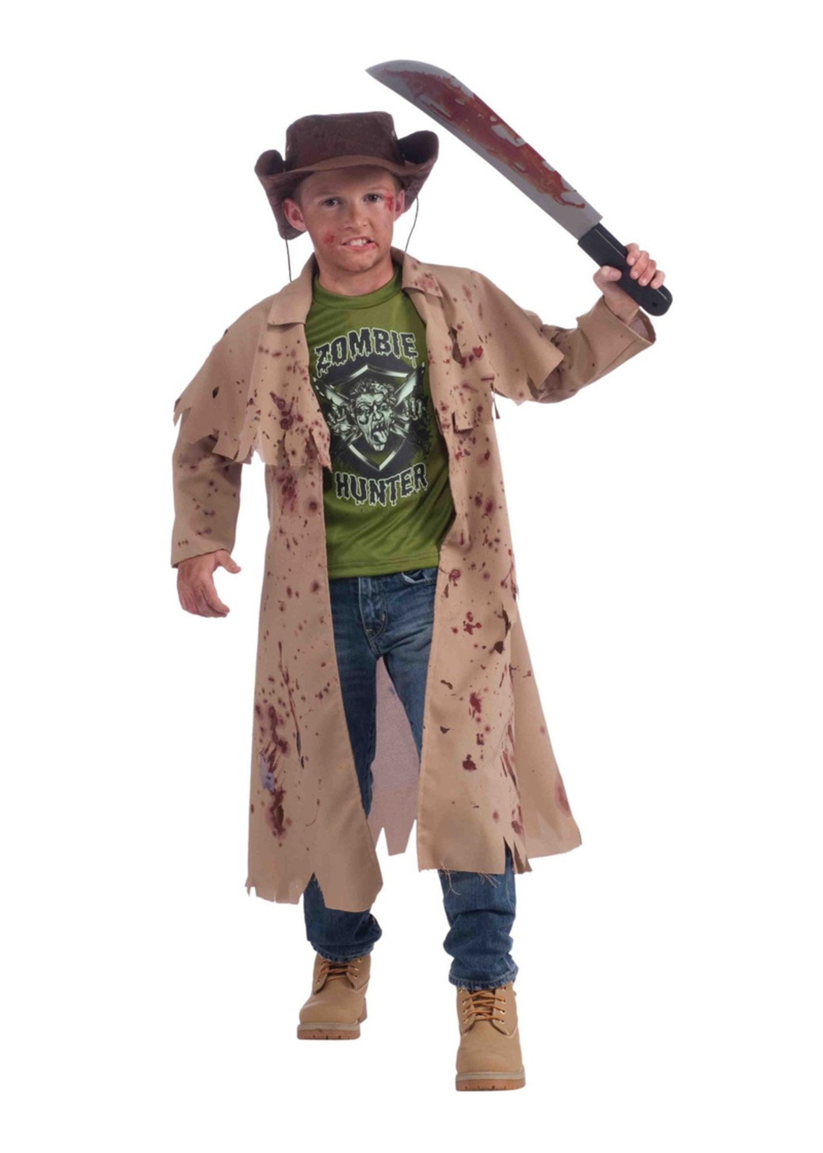 Zombie Hunter Costume - Boys