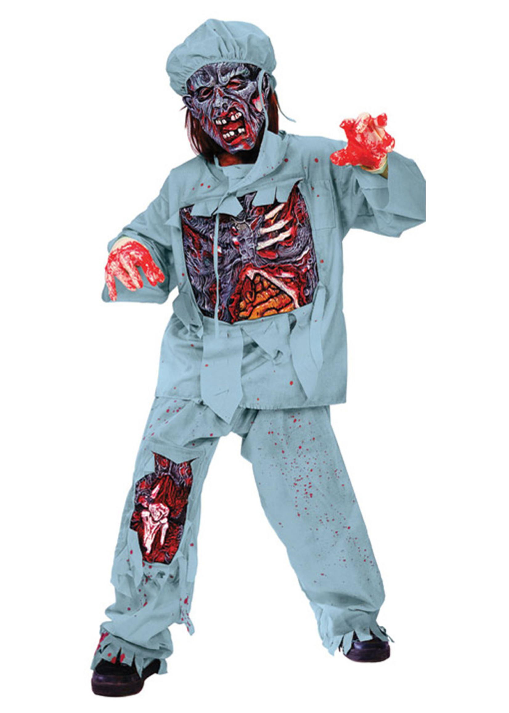 Zombie Doctor Costume - Boys
