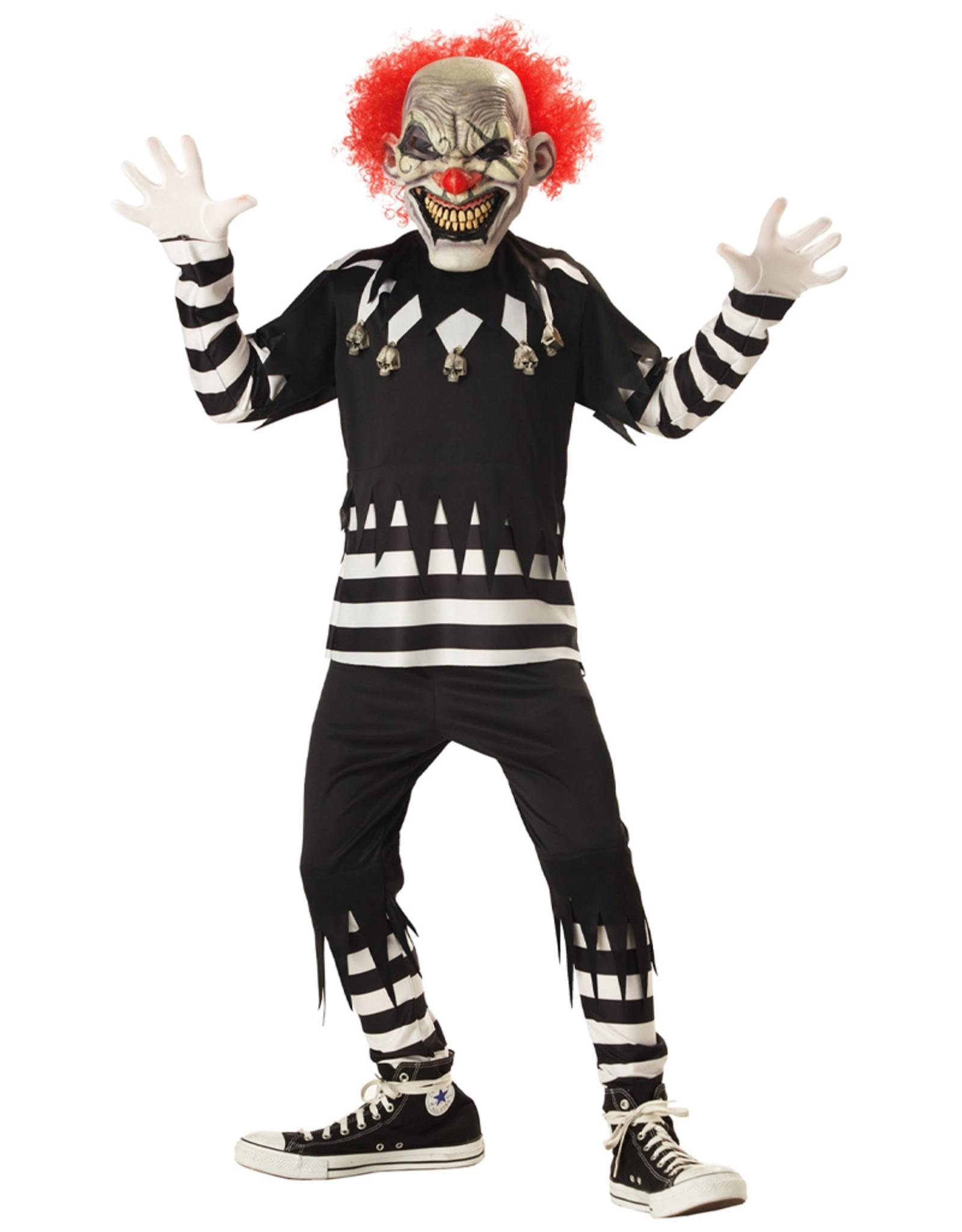 Creepy Clown Costume - Boys