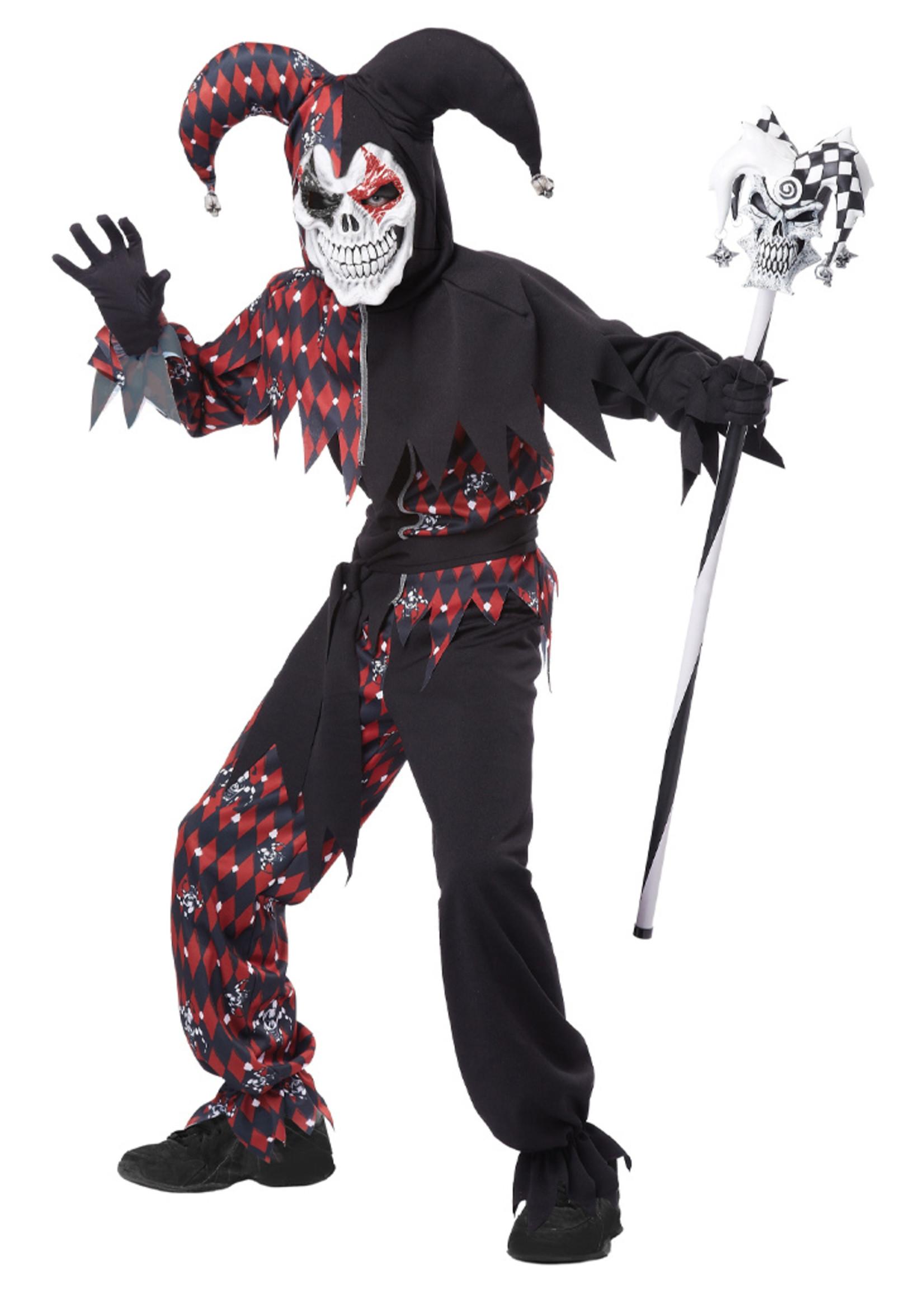 Sinister Jester Costume - Boys