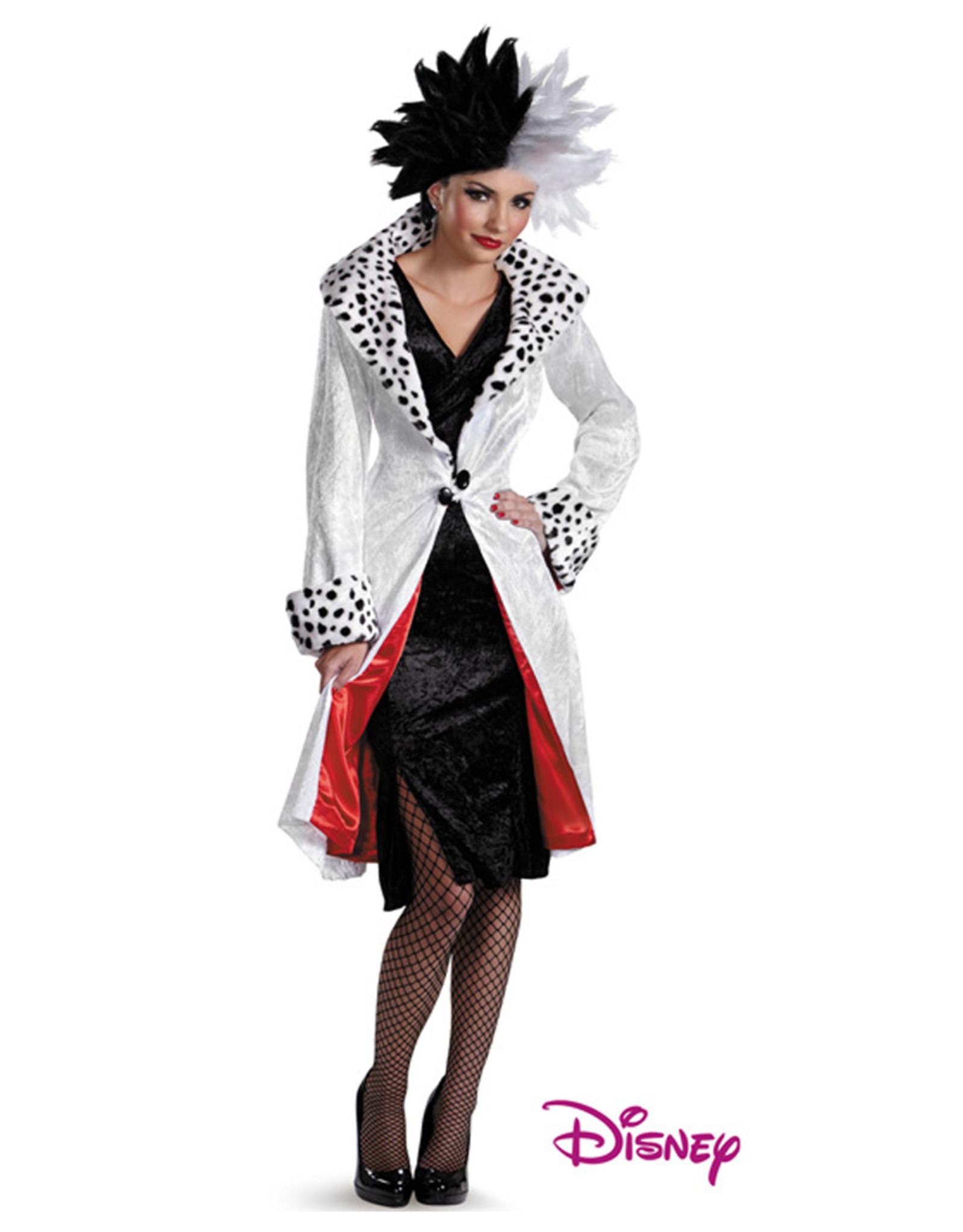 Cruella De Vil Prestige Costume - Women's