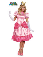 Princess Peach Costume - Women's