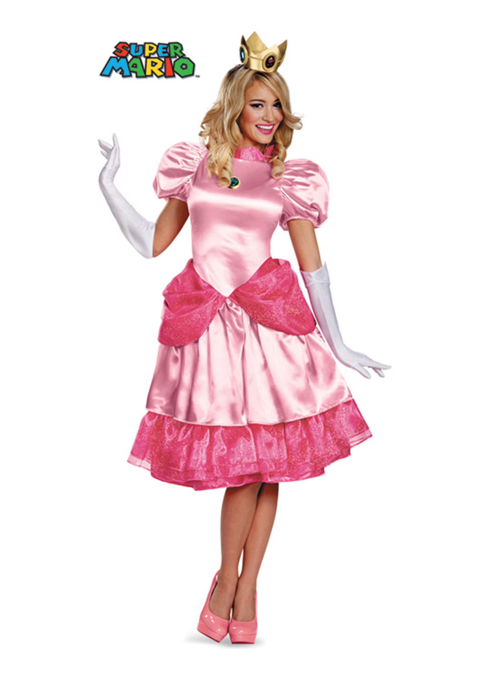 Princess Peach Costume - Women's