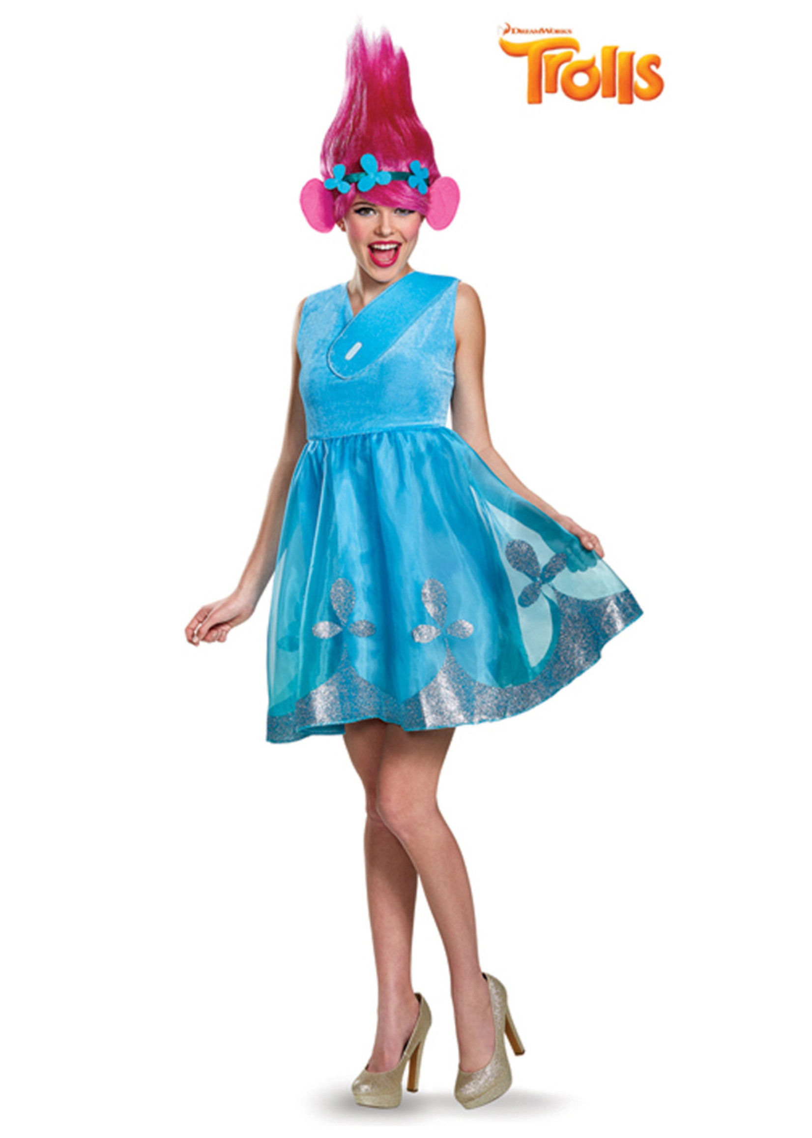 Poppy - Trolls Costume - Women's