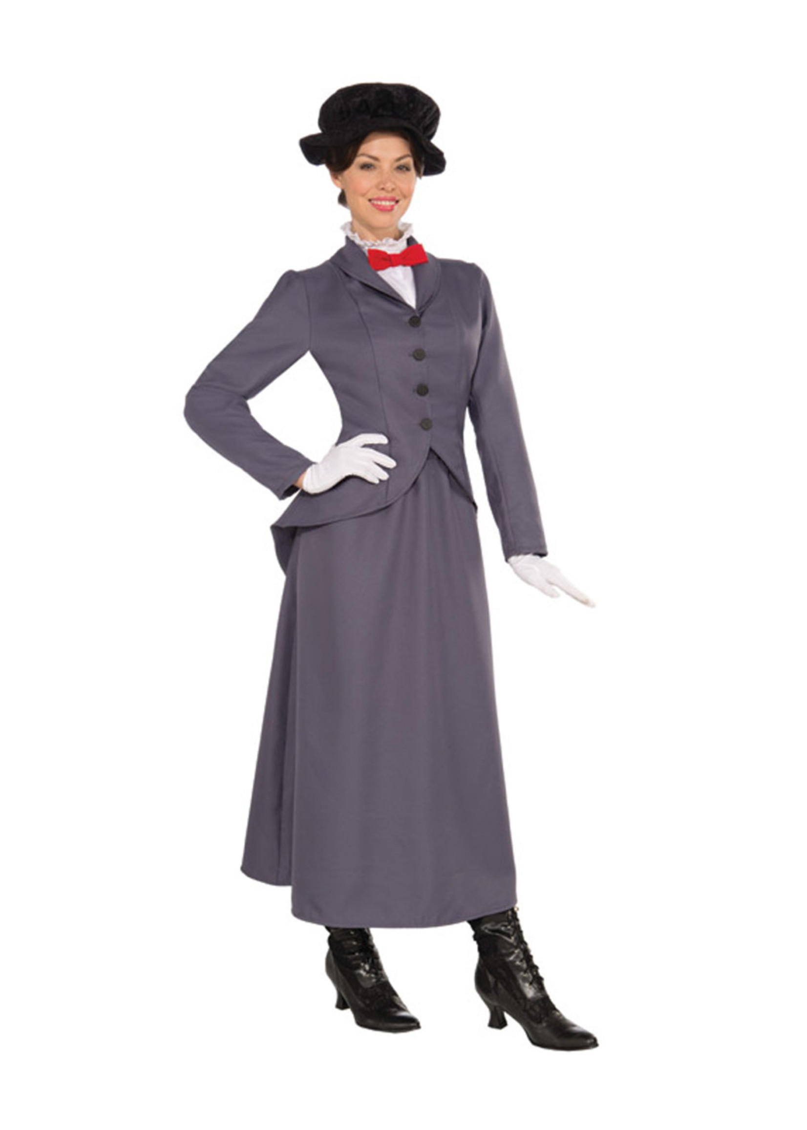 English Nanny Costume - Women's