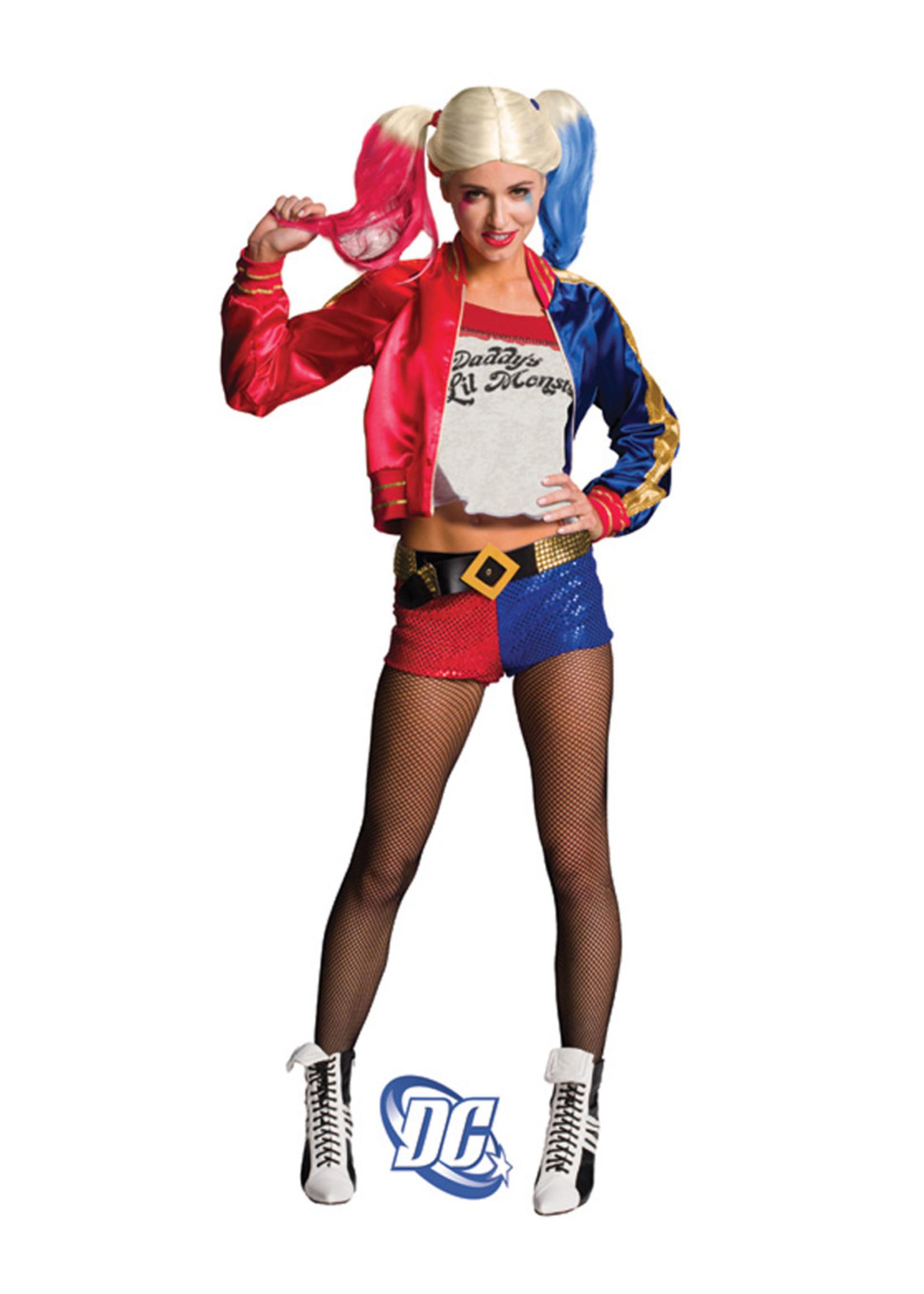 RUBIES Harley Quinn Deluxe Costume - Women's