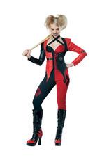 Psycho Jester Chick Costume - Women's